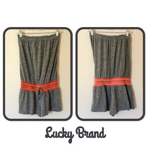 Lucky Brand Romper/Swimsuit Cover-up